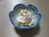 冷酒のおつまみに☆姫皮(筍)の梅わさマヨ和え - candy&sarry&・・・2