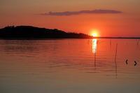 世界で最も夕焼けが美しい七つの場所、トラジメーノ湖畔サン・フェリチャーノも - ペルージャ イタリア語・日本語教師 なおこのブログ - Fotoblog da Perugia