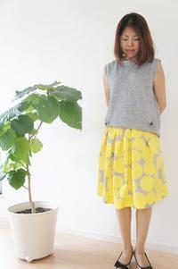 男の子ママ必見。夏らしいスカートと子供トップスのお揃いコーデ - ハンドメイドで親子お揃い服 omusubi-five(オムスビファイブ)