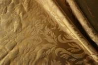 ゴールドの布・カーテン - スペイン・バルセロナ・アンティーク gyu's shop