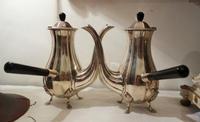 シルバープレートコーヒーポット19,20 - スペイン・バルセロナ・アンティーク gyu's shop