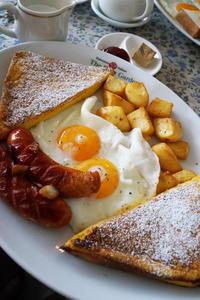 朝 ローズガーデン 昼 茉家 - ちゅらかじとがちまやぁ