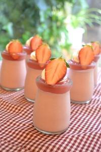 いちごムース - 調布の小さな手作りお菓子・パン教室 アトリエタルトタタン