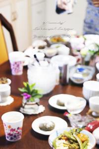 玄米食食療法のワークショップ。 - 香草と穀菜の料理教室・結井言