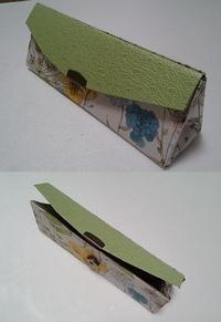 スマホカバーとメガネケース - グリママの花日記