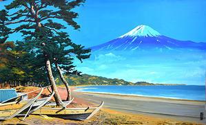 お風呂に富士山の背景画を! - 健康、お酒、陶芸、ゴルフ、インターネット