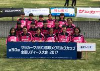メグミルクカップ:組合せ抽選結果&開会式 - 横浜ウインズ U15・レディース