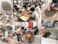 本日の陶芸教室 Vol.650、651 - 陶工房スタジオ ル・ポット