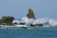 波を待つ5 - 雲空海