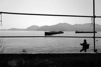 釣り人 - Wayside Photos  ☆道端ふぉと☆