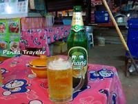 最後の宴はドンムアン空港近くの屋台で - 酒飲みパンダの貧乏旅行記 第二章