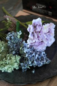1dayレッスン終了♩ - Le vase*  diary 横浜元町の花教室