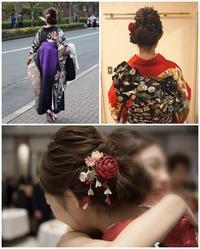 お母さんの手作り!卒業式の髪飾り☆ - 葉ちっく☆店長日記☆