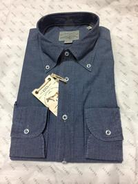 ORIAN / DENIM DIVISION シャンブレーボタンダウンシャツ - T's HOBBY PHOTO