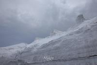 雪の壁 - Aruku