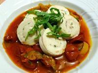 鶏ハムとカポナータ (Pollo bollito e caponata) - エミリアからの便り