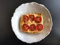 栃尾揚げのピザ風 - ぼっちオバサン食堂