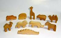 小さな動物たち(銘木使用) - 布と木と革FHMO-DESIGNS(えふえっちえむおーでざいんず)Favorite Hand Made Original Designs