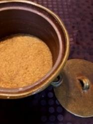 備前焼瓶で仕込んだ味噌が完成しました!第2弾は丹波篠山産白大豆で作ってみます。 - miso汁香房(ロジの木)