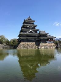 美しい松本城 - いちじく日記*てんかんをご存知?*