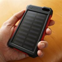 【AD】iClever モバイルバッテリー(10000mAh/ソーラーチャージャー付) - 日曜アーティストの工房