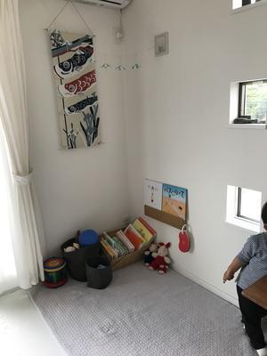【 手軽に飾れる鯉のぼり 】 - 片付けたくなる部屋づくり