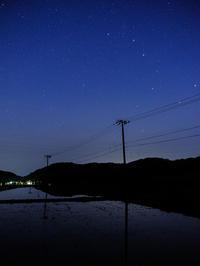 夜明け前 - デジタルで見ていた風景