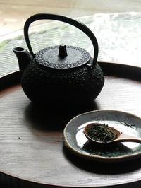 手仕事  「新茶作り」 - 心とカラダが元気になるアロマ&ハーブガーデン教室chant rose