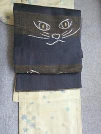 連日猫着物でギャラリーへ - うららフェルトライフ