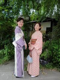 レトロなお着物と大人っぽいお着物が素敵。 - 京都嵐山 着物レンタル&着付け「遊月」