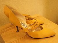 Chanel, Celine sandal - carboots