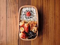 5/2(火)肉巻き葱のトマトソース弁当 - おひとりさまの食卓plus