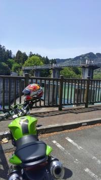 バイクでダム巡り 下久保ダムから余地ダムへ(2) - DDT-3のブログの小部屋