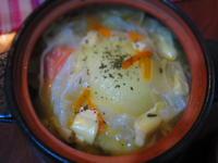玉ねぎまるごと餃子鍋 - 恵茶房 meg tea labo