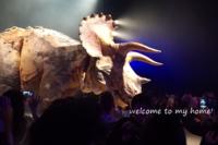 渋谷に本物の恐竜現る!!◆GWこそ、都内は空いている気がする。嘘かな? - welcome to my home!
