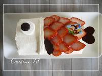 低糖質な鯉のぼりロールケーキ - cuisine18 晴れのち晴れ