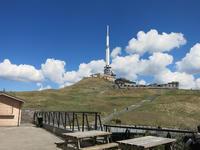 山頂でスケッチ〈Puy de Dôme〉lun. 10 avril*3日目3 - ときどき日誌 sur NetVillage