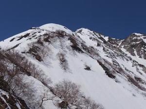北ア 杓子岳 杓子尾根 ・・・2017.5.3-5 -  いつも遠い空を想って