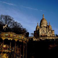 Montmartre(Paris trip1) - Square Garden
