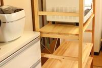 お台所の棚の、収納見直し。 - キラキラのある日々