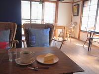 まんごーちーずけーき:カフェ・ルーラル(西目屋村) - 津軽ジェンヌのcafe日記