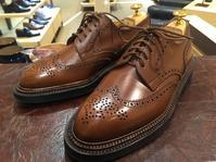 J.M.WESTON 590レザーソールのお手入れ - 日本橋三越2F 靴修理・靴お手入れ工房スタッフの日常(シューリペア工房)