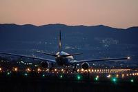 大阪空港夜撮リベンジ編 - スポック艦長のPhoto Diary