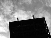 ビルの上のアンテナ群 - 写真家藤居正明の東京漫歩景