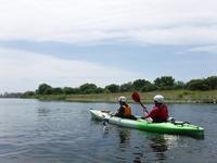 多摩川の風景 - 水の国の風景