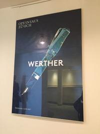 Werther@Zürich - 雑雑日記(a)