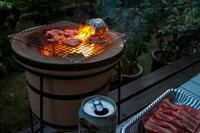 ガーデン七輪BBQ - にゃんてワンダホー!