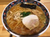 金沢(堀川町):鮮魚麺 海里 「鮮魚醤油らーめん」 - ふりむけばスカタン
