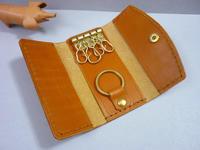 久しぶりの・・キーケース(単純型) - 手縫い革小物 paddy の作品箱
