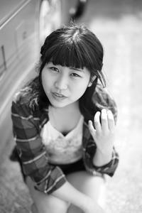 桜田千夏ちゃん10 - モノクロポートレート写真館